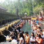 Tirta Empul the holly spring temple