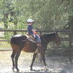 Children's riding program - first time rider