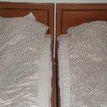 dwuosobowe, wygodne łoże ;)