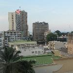 Kinshasa as you see it from the room window