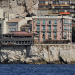 Hotel from Sea