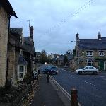 The main street of Waltham-on-Wolds