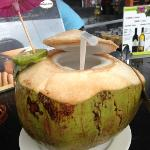 baby coconut juice