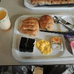 日式和美式的自助早餐