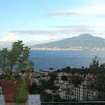 Sunny view over Bay of Naples