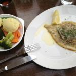 Baked Plaice