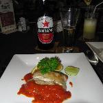 Fischgericht Mahi-Mahi