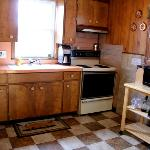 Kitchen for the Guests - Fully Stocked