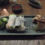 Wraps and spring rolls