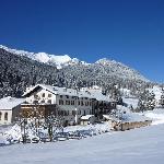 Gasthof zum Hirschen im Winter