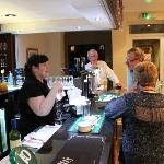 A busy Night On the Bar