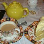 Tea and Cake at Mrs Jackson's