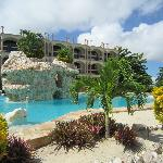 Coco Beach pool (view from the Casita)