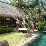Our villa with pool