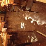 Sala colazione con acqua alta