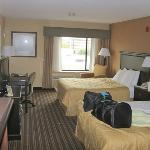 View of room - Typical Comfort Inn