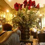 Bonita decoración y un ambiente relajado