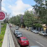 nearby street