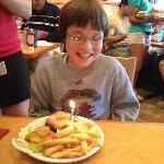 Jack's 12th birthday at Palmetto Bay Sunrise Cafe