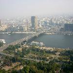 Utsikten fra Cairo Tower
