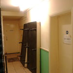 The entry in to the kitchen west 2 hostel london