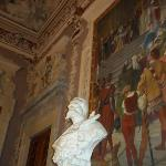 Main room statue