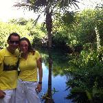 cenote en Xpu Ha