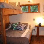 Inside Hideaway Studio Cabin