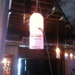Light fixture in Bar