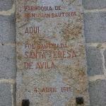 Iglesia de San Juan Bautista, Ávila, España.