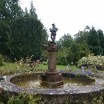 Fountain at front entrance