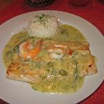 Cena en la Tranquera: trucha del Titicaca