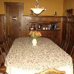 Original dining room table!