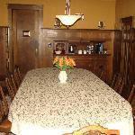 Original dining room table!