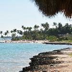 """Vue depuis le restaurant """"Hispaniola"""""""