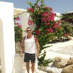 Entrance to Corfos Hotel