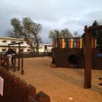 Outside play area.