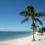 The beautiful Sombrero Beach