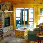 Inside Yellowstone Lodge