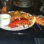 2 lb+ Lobster dinner!