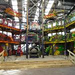 Kids area- looked still under construction