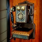 Old telephone, it actually works.