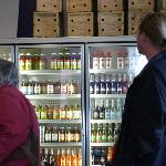 allot of drinks to choose from