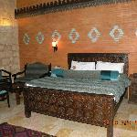 A persian style bedroom.