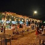 Dining under the stars, sand between your toes