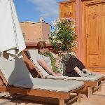 Sundeck on roof