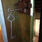 Our room keys were hugeeee!
