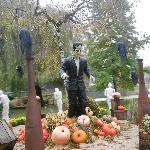 Décor du parc pour Hallowen