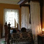 Bringham's original bed brought from Salt Lake City