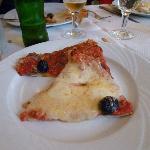 pizza toute simple fromage ou anchois